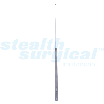 JACOBSON SUTURE PUSHER, DOUBLE PRONG, 7-1/2