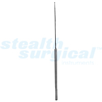 "A-STYLE STRAIGHT ROUND DISSECTOR, SHARP EDGES, 8-3/4"", 1MM"