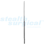 "A-STYLE STRAIGHT ROUND DISSECTOR, SHARP EDGES, 8-3/4"", 2MM"