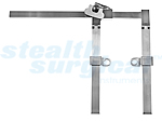 SELECT-TRAC LUMBAR RETRACTOR BODY FOR MULTIPLE BLADES