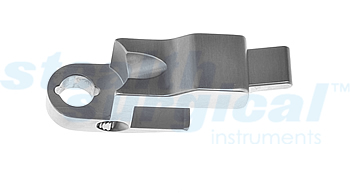 SELECT-TRAC SIDE-LOADING LUMBAR RETRACTOR BLADE HOLDER FOR SS0802
