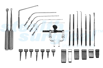 MCCULLOCH TYPE RETRACTOR SET (HINGED RETR BODY AND BLADES)
