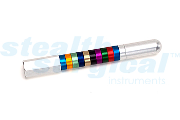 STEALTH SURGICAL INSTRUMENTS ACF COLOR COATED DEPTH GAUGE