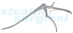 "SHARP-COAT HINGLESS FORAMENOTOMY KERRISON CVD UP 8"" 2MM"