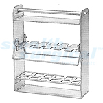 BRUNS STERILIZING RACK